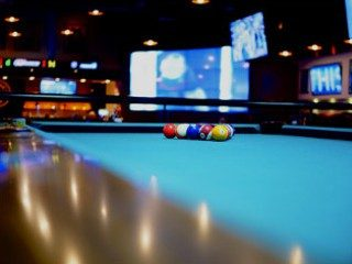 Pool table setup in Miami, Florida