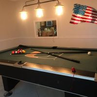 UM Green College Pool Table