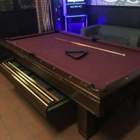 Pool Table Authentic American Brunswick