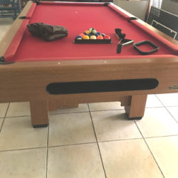8' Imperial International Pool Table